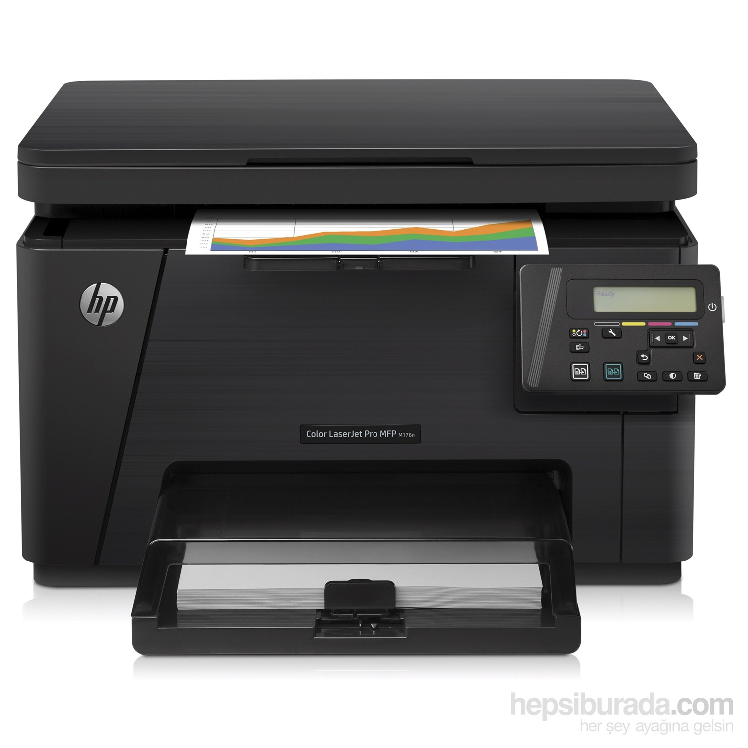 Impresora Multifunci 243 N Color Hp Laserjet Pro M176n Hp