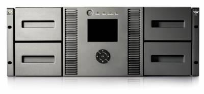 HP MSL4048 + 1 LTO5 FC